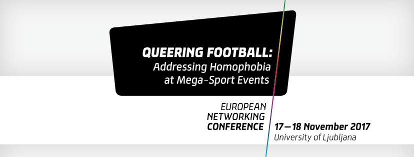 Vabilo na Queering Football konferenco v Ljubljani