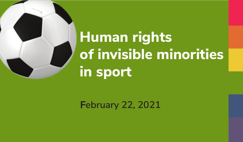 Povabilo: Človekove pravice nevidnih manjšin v športu