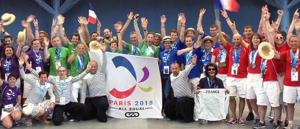 Pridružite se nam na Gay Games 2018 v Parizu