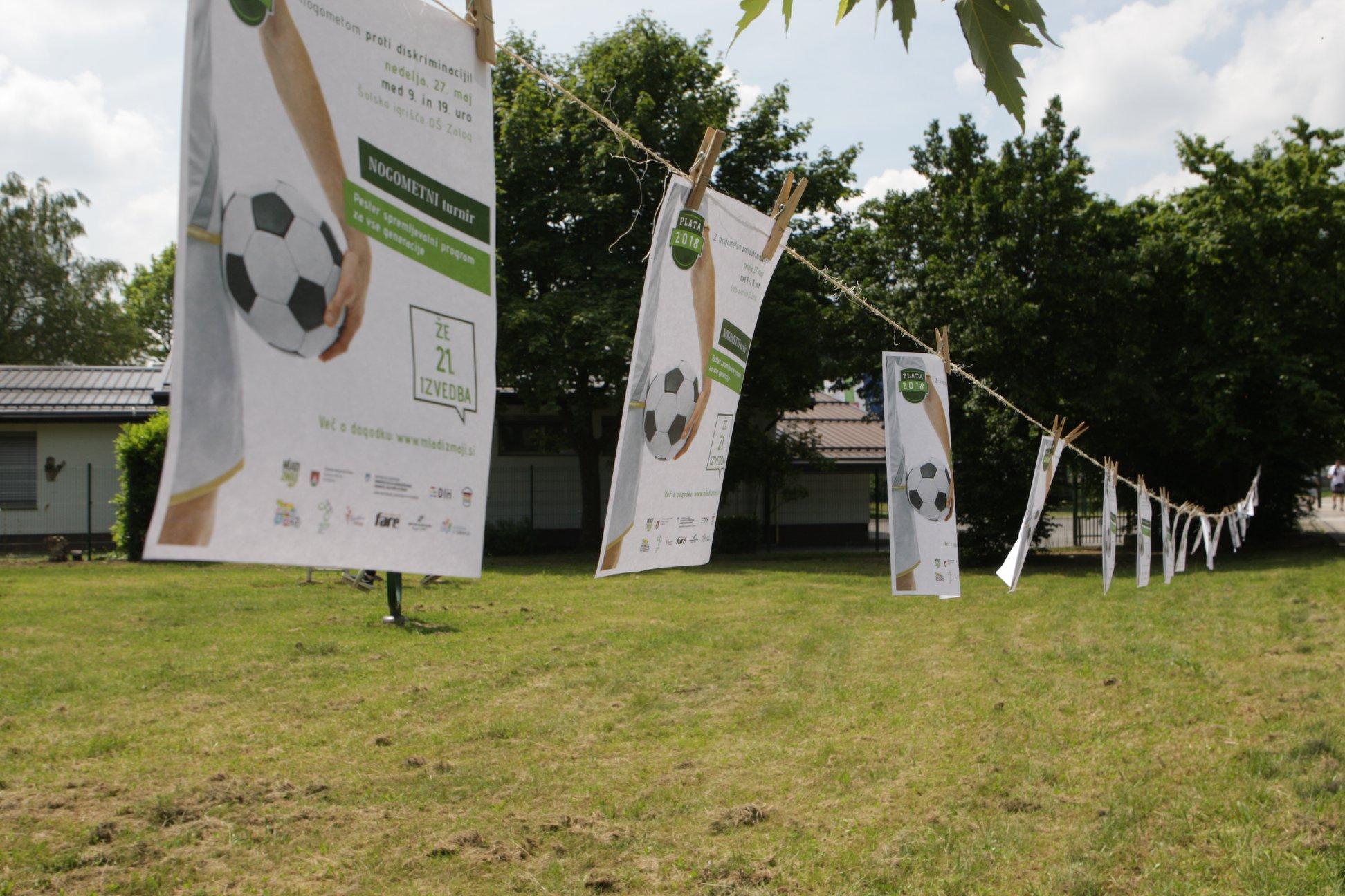 Pomladna Plata 2018 – Z nogometom proti diskriminaciji