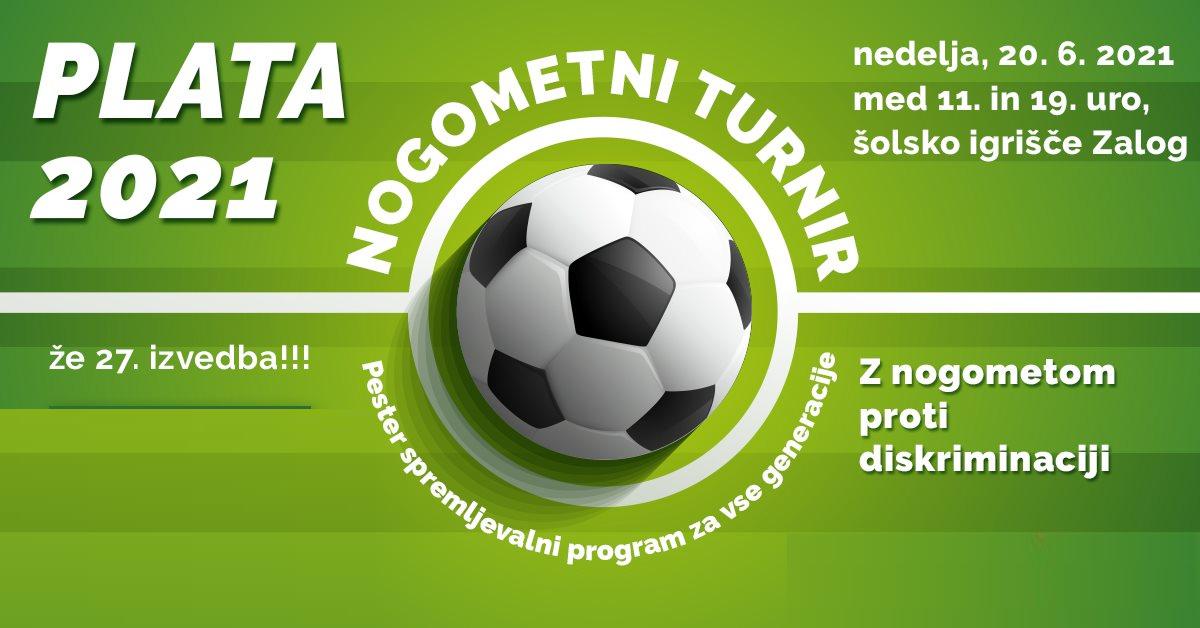 Plata 2021: Z nogometom proti diskriminiaciji