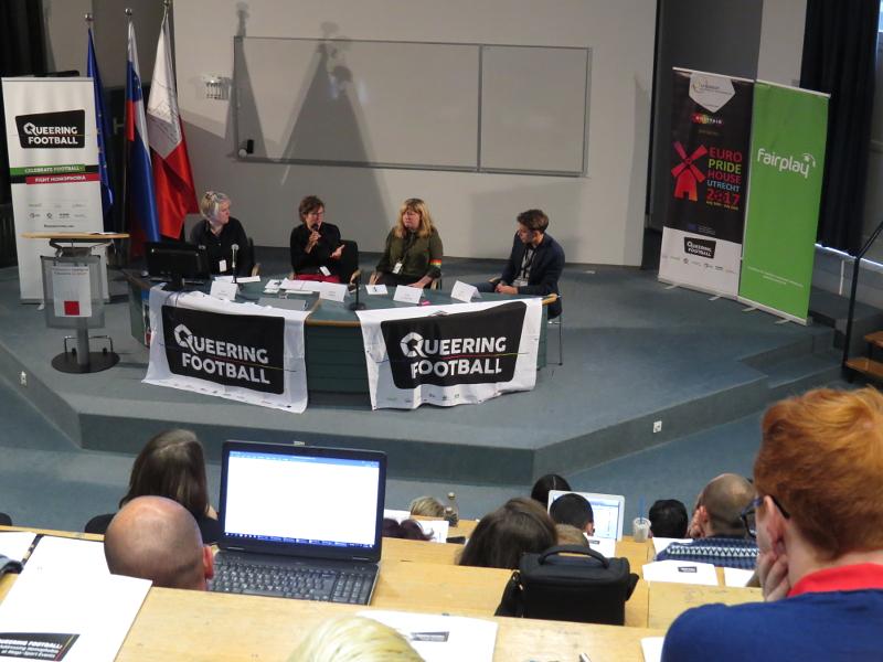 Panel 1: Naslavljanje homofobije v evropskem nogometu: napredek in izzivi
