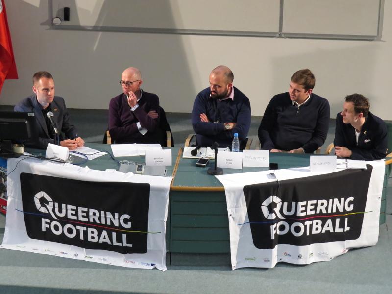 Panel 2: FIFA Svetovno prvenstvo v nogometu 2018 kot priložnost za spopad s homofobijo in zagotovitev človekovih pravic?
