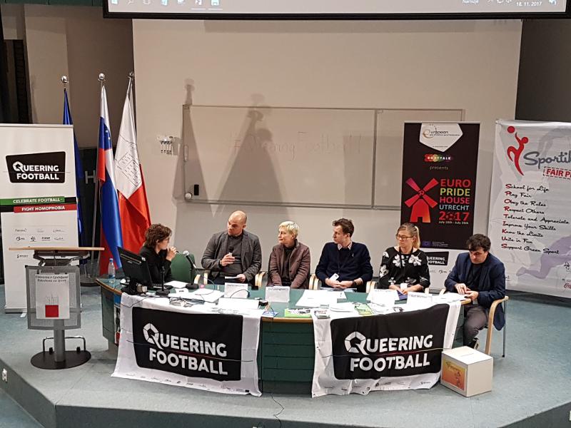 Panel 3: Športna kultura brez homofobije in diskriminacije